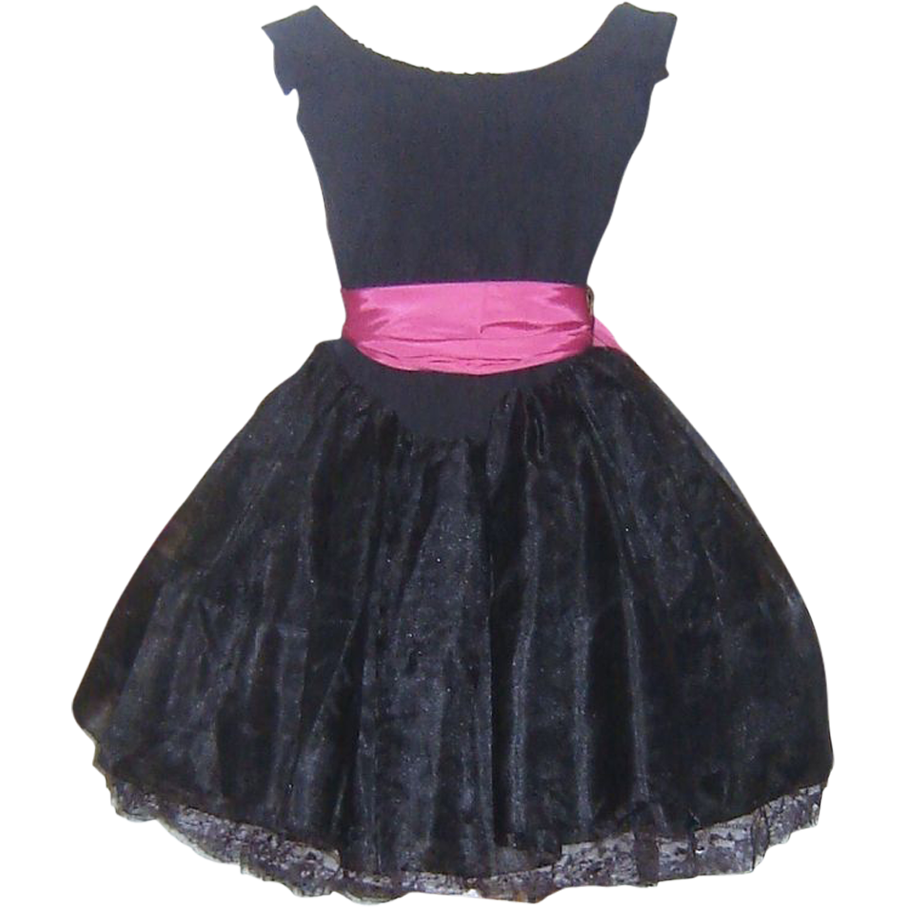 Transparent prom dress