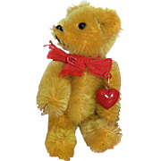 REDUCED Jaunty 1970s Golden Schuco Jointed Bear