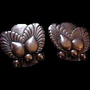 Georg Jensen Denmark Sterling Silver Bittersweet Earrings