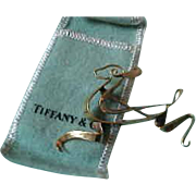 Vintage Tiffany & Co. 14K Yellow Gold Leaping Deer Brooch Pin