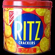 SOLD 1977 Nabisco Ritz Cracker Tin