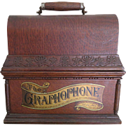 SOLD Columbia Graphophone Phonograph, 1897