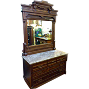 Matching Dresser & Hotel Commode (2 pieces)