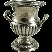 Silver Plated Urn Vase Barker Brothers Birmingham