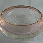 Mark Matthews Controlled Bubble Glass Bowl