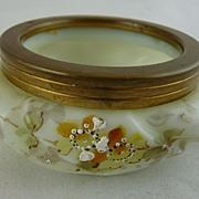 C F Monroe Wavecrest Open Vanity Jar