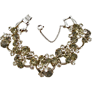 Juliana Black Diamond and Crystal Bracelet by DeLizza & Elster