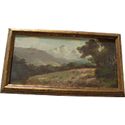 SALE Old Landscape Oil Painting