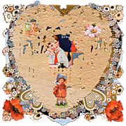 Vintage Valentine: Whitney Made Valentine Dated 1927