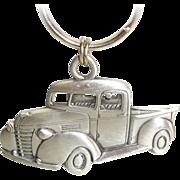 SOLD Pick Up Truck Key Chain Ring Fob JJ Jonette