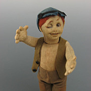 REDUCED Lenci Winker Character doll ~ Old Label ~ All Original ~
