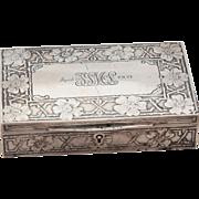 REDUCED Tiffany& CO~ 1909 ~Gentleman's Dresser Box ~925
