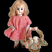 "5.5"" Kestner 130~ ALL BISQUE ~All Original~ Antique Doll circa 1900 to 1910"