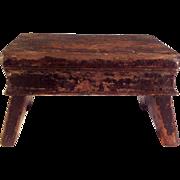 Early footstool ~Cricket Stool~ Folk Art~ Sweet~