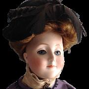 REDUCED 17 inch~Gibson Girl Kestner Lady Doll #172