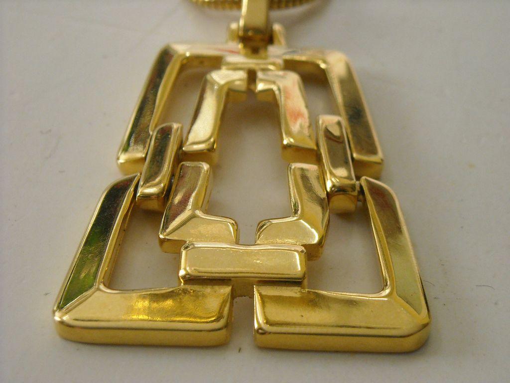 Trifari Mod Necklace