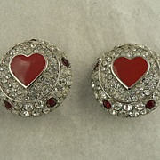 Vintage Christian Dior Couture Earrings