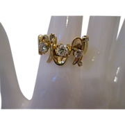 14kt Yellow Gold Custom Made Diamond Band
