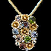 Austrian Swarovski Crystal Pendant Necklace