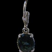 Sterling Silver London Blue Topaz Dangle Earrings
