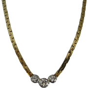 Elegant Diamond 14kt Necklace