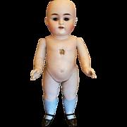"""SALE Antique German All Bisque 11"""" Kestner Doll - #150-6"""