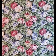 SALE 1 of 23 Yards Chintz Fabric Saison Floral Flowers