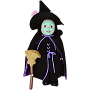 """SALE Wizard Of Oz Doll Wicked Witch of the West Toddlers 19 1/2"""" Collector's Edition Vint"""