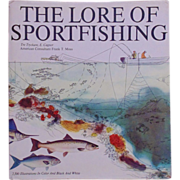 The Lore of Sportfishing Tre Trychare & E. Cagner Fishing Book w/ 2,500 Illustrations