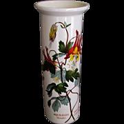 Beautiful vintage Portmeirion Botanical Garden vase Slender Columbine