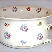 Vintage English Chamber Pot 5021~ Arthur Wood Floral Tranfer