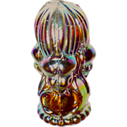 SOLD Tiffany Favrile Glass Iridescent Scarab Wax Seal