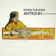 Davy Crockett Child's Wrist Watch - Mint in Package