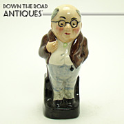 Mister Pickwick Hand Painted Porcelain Figurine