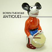 Porcelain Mickey Mouse Drum Player