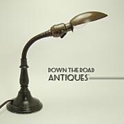 Petite Goose-neck Lamp - 1920's