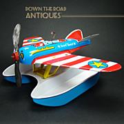Ohio Art Pontoon Plane Wind-up Toy - Near Mint