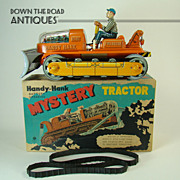 Handy-Hank Mystery Tractor Battery Operated Toy - Mint in Box