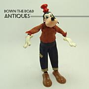 Marx Goofy Bendy Toy - Walt Disney Productions