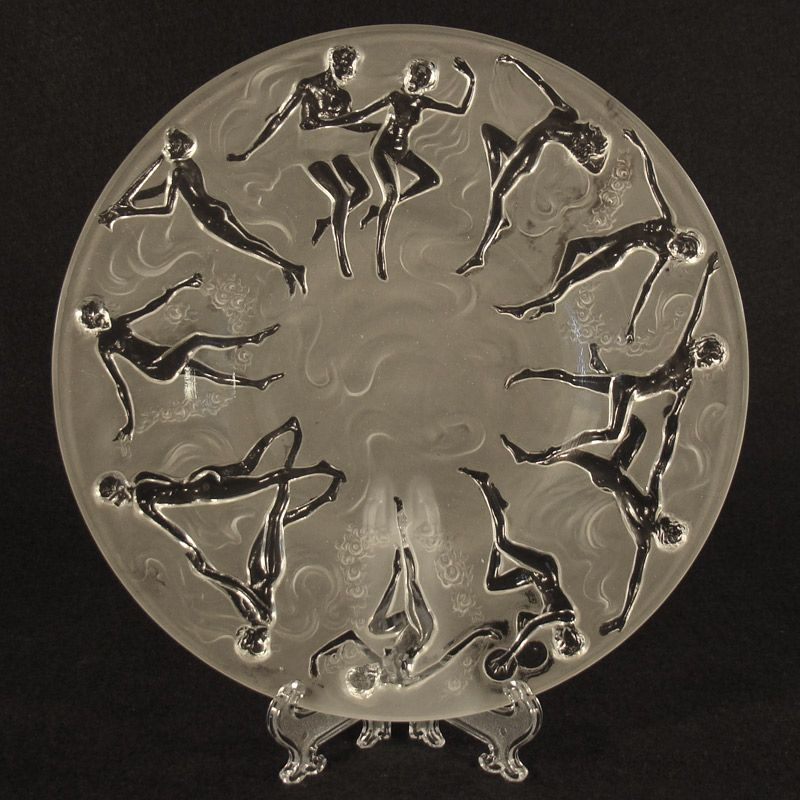 Consolidated Martelè Dancing Nymph Plate