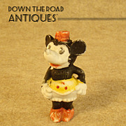 Early Minnie Mouse Bisque Figurine