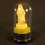 Rare St. Nick Light Bulb - Hand Painted