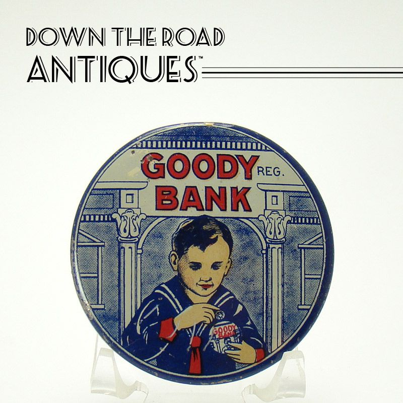Tin Lithographed Goody Bank