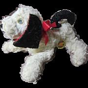 Plush vintage musical dog