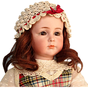 Adorable Antique Mein Liebling 117/A German Character Doll