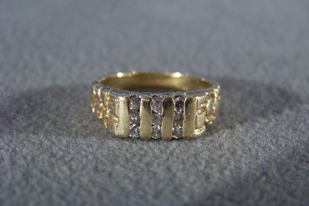 Mens Wedding Band Vintage Men's Wedding Band Ring