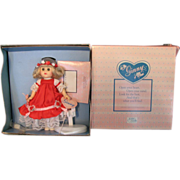 SALE Vintage Ginny Doll Queen of Hearts Rare Valentines Day MIB