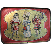 SALE Antique Toy Tray Leo Schlesinger Love Letter 1912