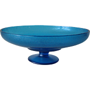 Northwood Stretch Compote #653 Celeste Blue