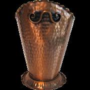 Vintage Copper Gregorian Basket Large